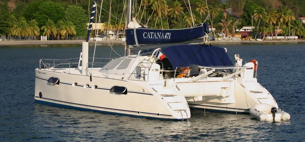 Catamaran Catana