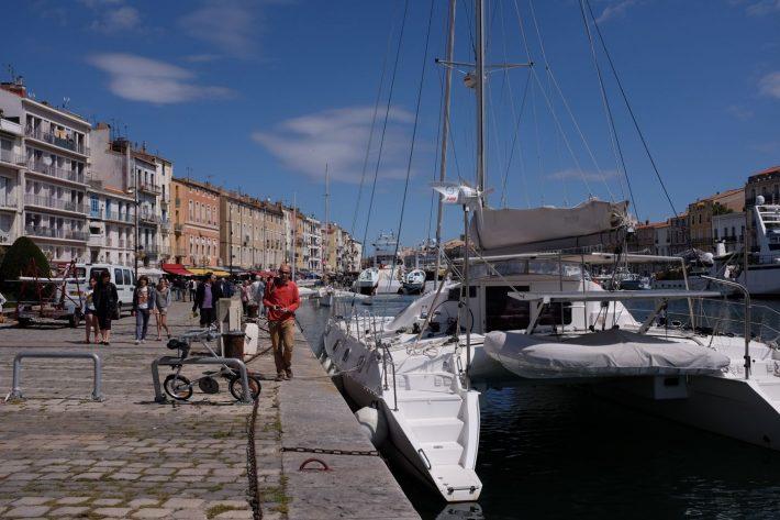Première navigation : saut de puce de La Grande Motte à Sète
