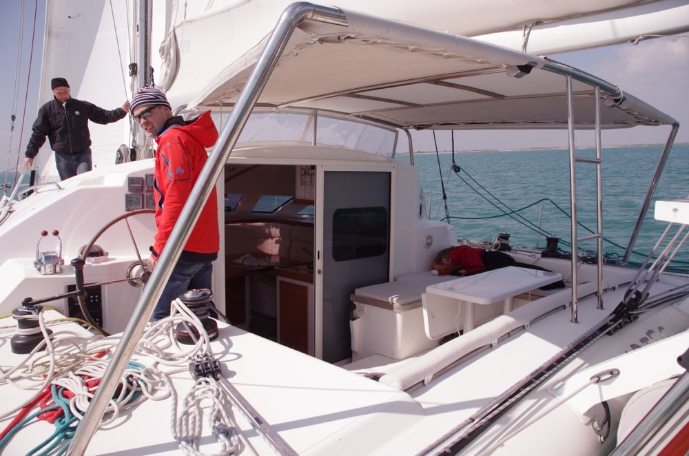 Catamaran grand voyage
